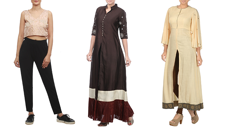 tops for palazzo pants online