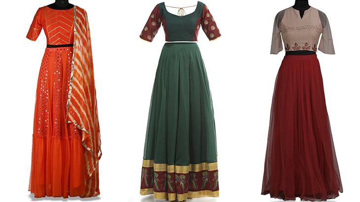 ghagra dress models